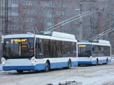 Администрация Иркутска закупает 4 низкопольных троллейбуса