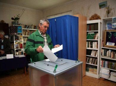 Досрочное голосование началось в Иркутской области
