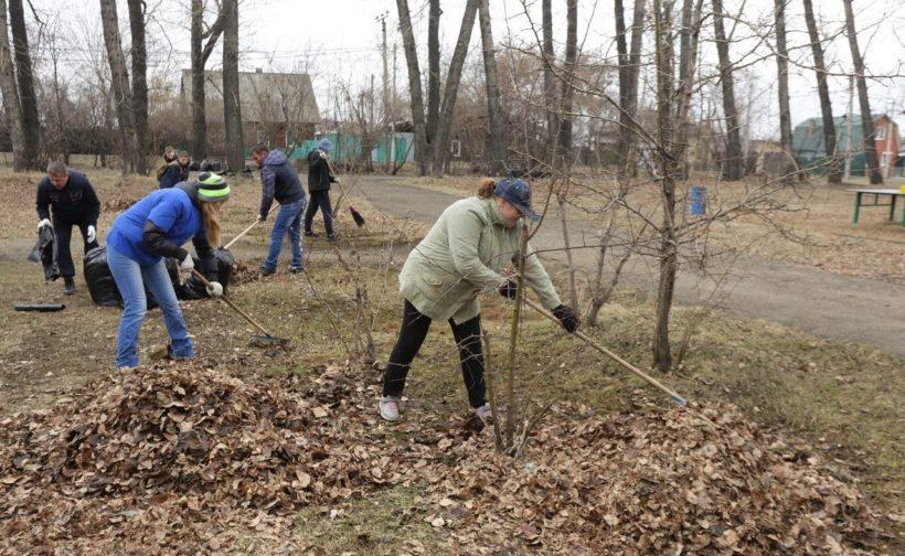 Субботник пройдет в саду Томсона в Иркутске 24 апреля