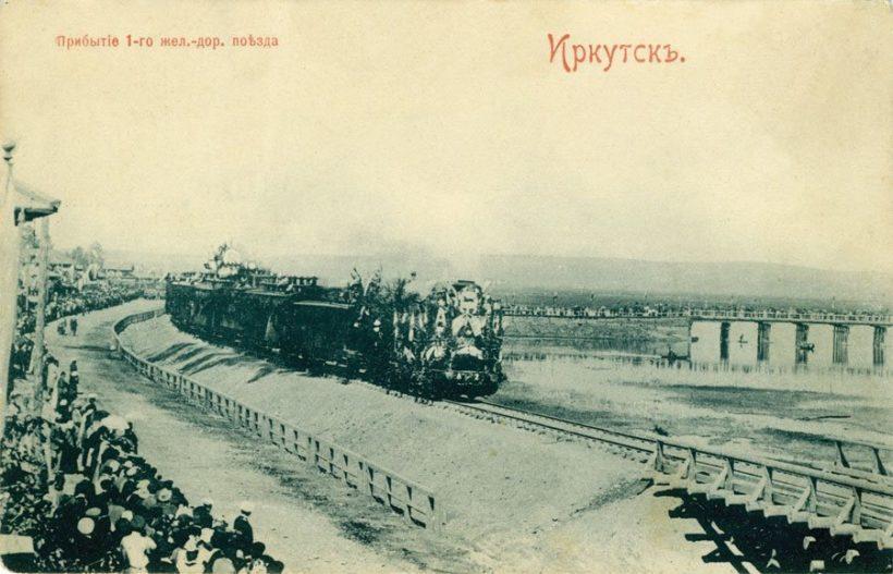 В августе в Иркутске воссоздадут прибытие первого паровоза