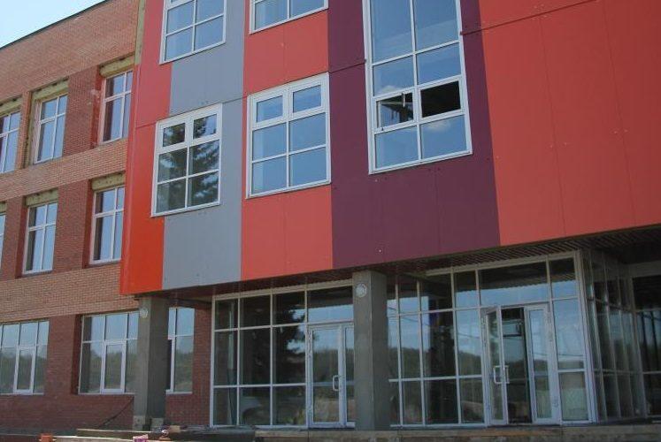В июне завершится строительство школы в поселке Горячий Ключ