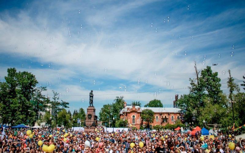 День мыльных пузырей пройдет в Иркутске 27 мая