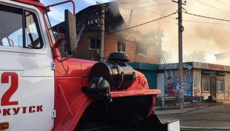 По факту пожара в нелегальной гостинице в Иркутске начата доследственная проверка