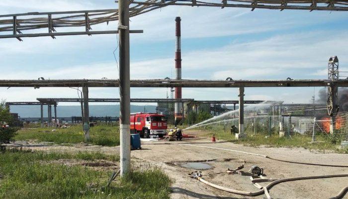 Администрация Братска: возгорание на ЛПК ликвидировано