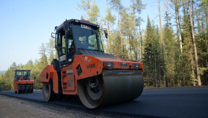 Начался капитальный ремонт пятикилометрового участка трассы А-331 «Вилюй» в Иркутской области
