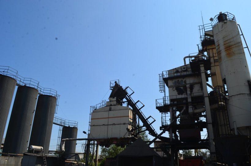 Асфальтобетонный завод в Иркутске модернизируют