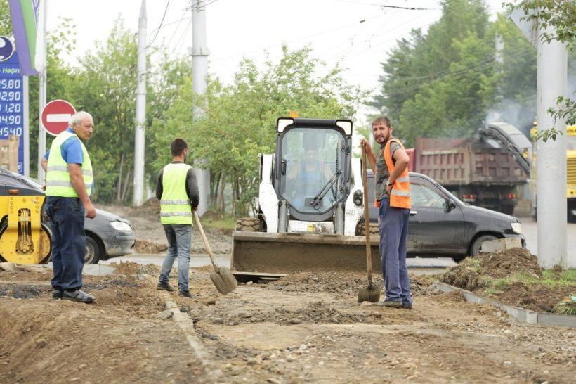 Ремонт объездной дороги микрорайона Юбилейный в Иркутске завершат к середине августа