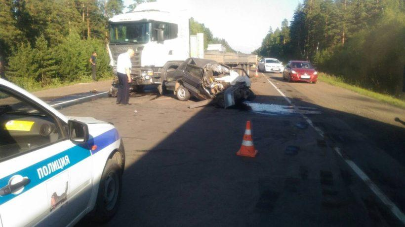 В результате ДТП в Тайшетском районе погибли двое людей