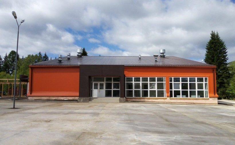 ФОК построили в поселке Алексеевск Киренского района