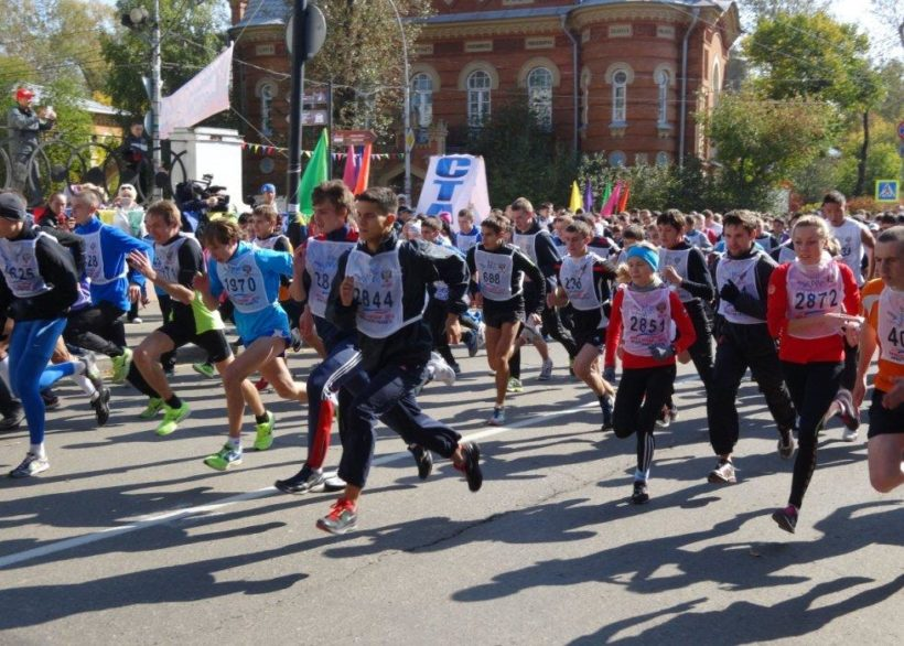 «Кросс Нации – 2018» пройдет в Иркутске 15 сентября