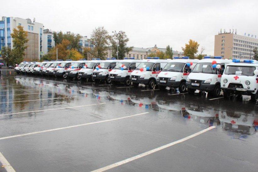 Больницы Иркутской области получили новые машины скорой помощи