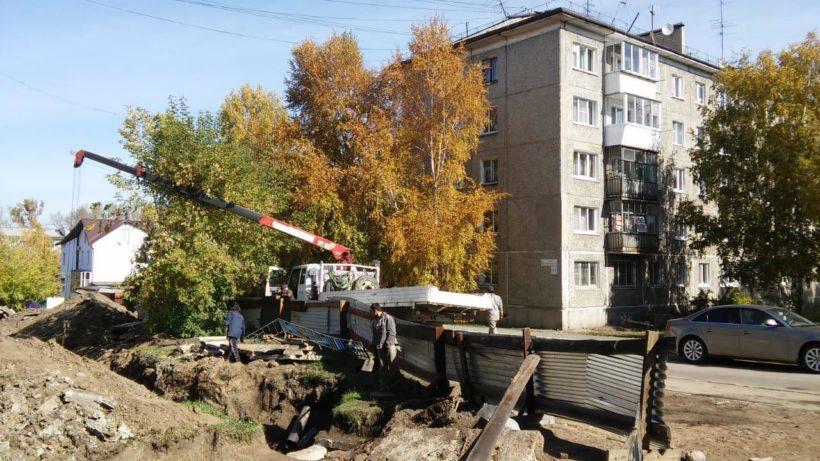 В городке ИВВАИУ ремонтируют инфраструктуру ЖКХ