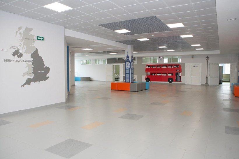 Новая школа №19 в Иркутске. Фото и видео