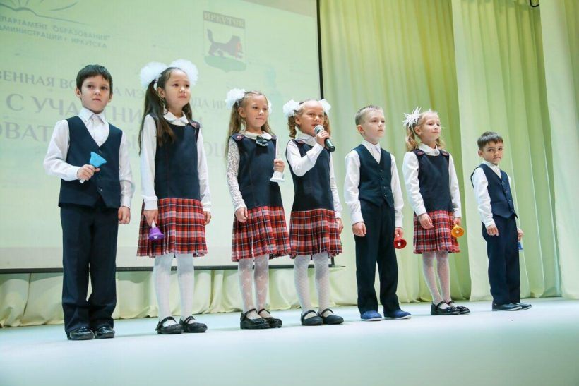 Торжественные линейки прошли в 71 школе Иркутска