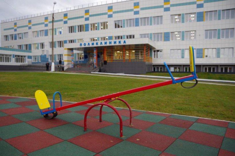 В Братске после капремонта открылась детская поликлиника