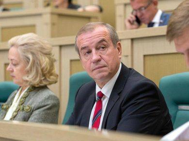В ЗС Иркутской области внесен проект закона об увеличении оклада губернатора