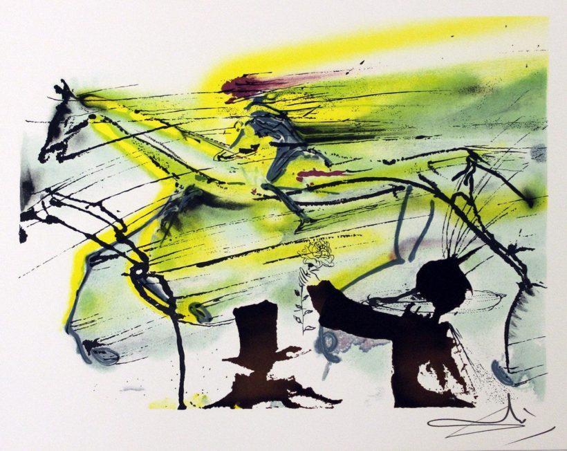 В Иркутском художественном музее экспонируется выставка графических работ Сальвадора Дали