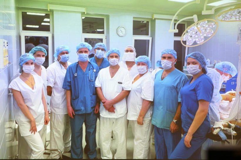 В Иркутской области впервые провели операцию по трансплантации печени