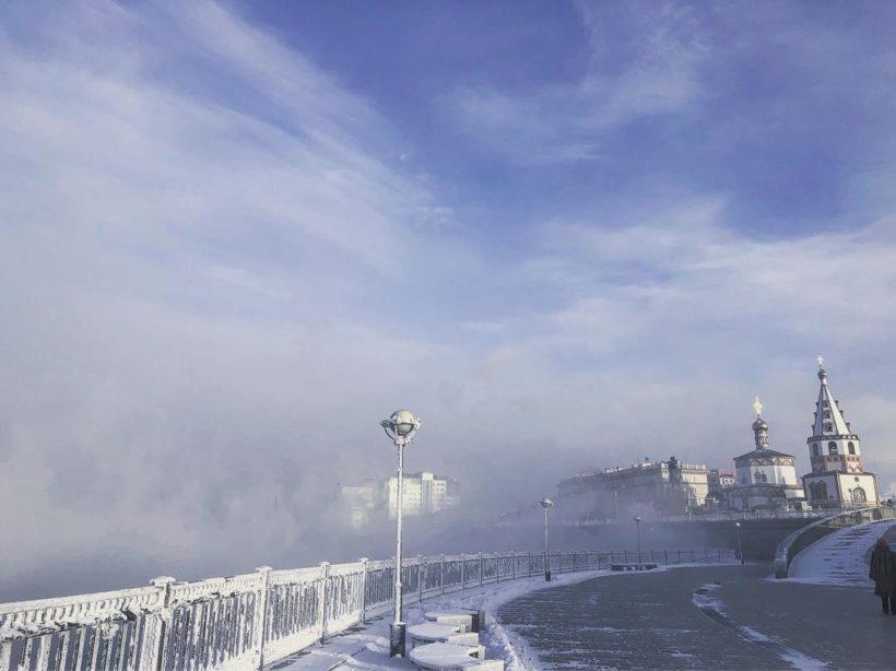В выходные в Иркутской области сохранятся морозы