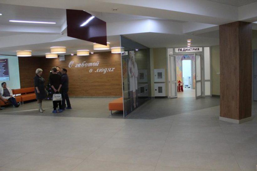 В поселке Молодежный открылась новая поликлиника
