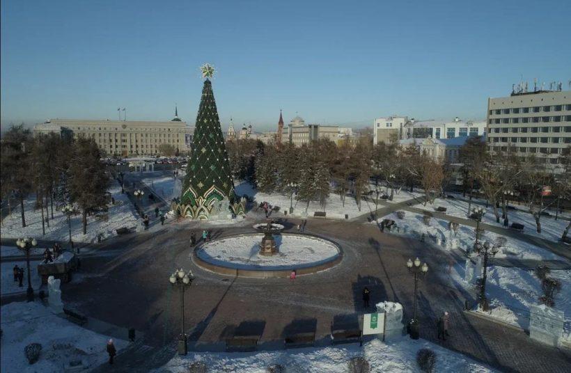 Главная зеленая красавица Иркутска