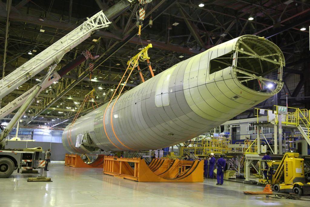 Иркутский авиазавод отправил фюзеляж МС-21 на тестирования вЖуковский