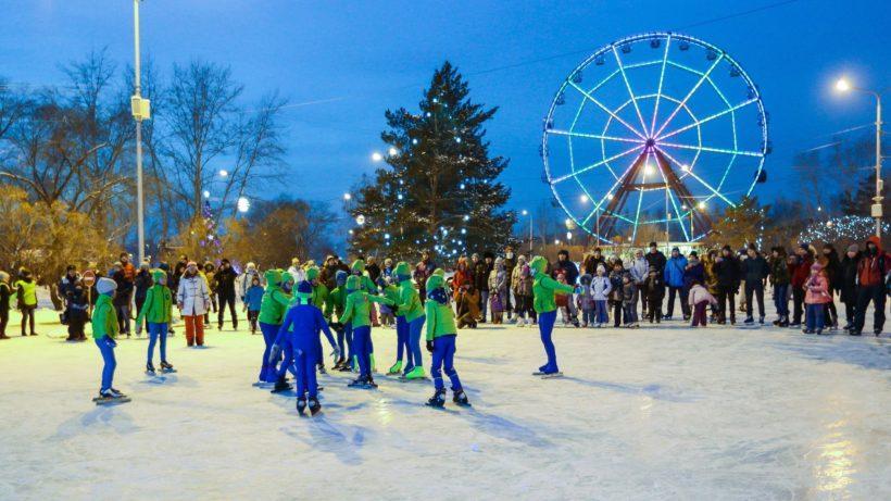 Бал-маскарад состоится на катке острова Конный в Иркутске 13 января