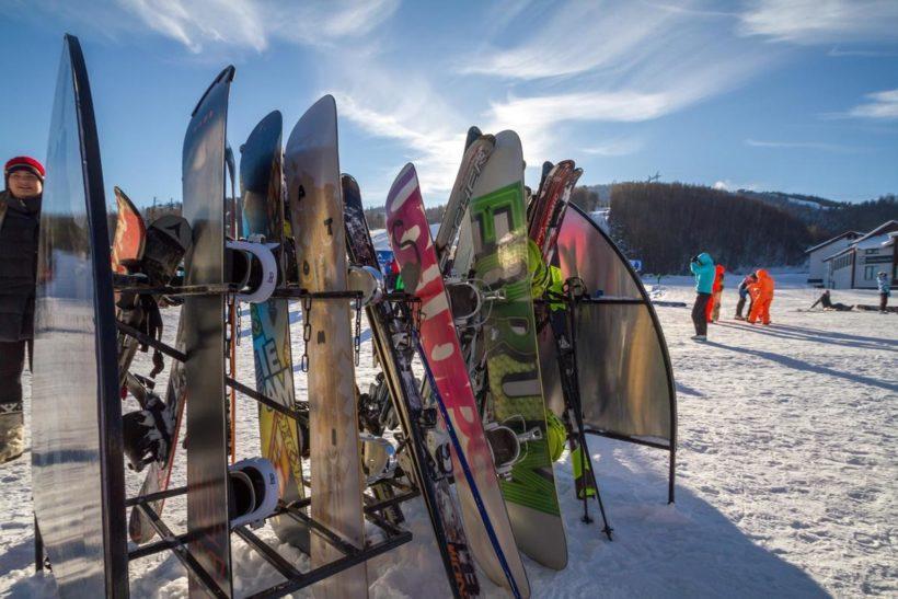 Открытие горнолыжного сезона на Горе Соболиной