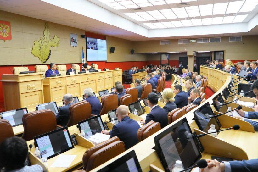 ЗС утвердило рекомендации правительству постановлением к закону об областном бюджете на 2019 год