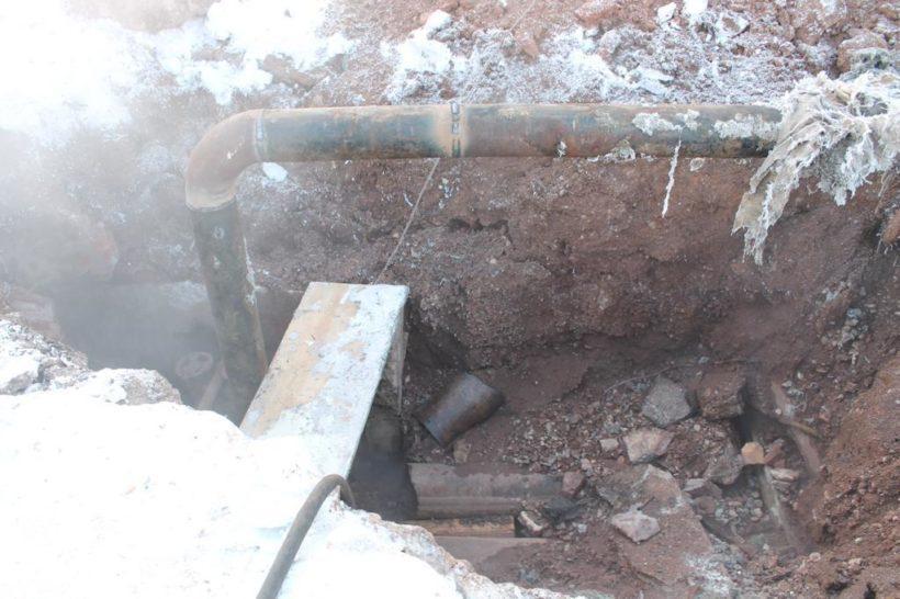 Коммунальная авария в Нижнеудинске. Жилые дома и детский сад остались без отопления