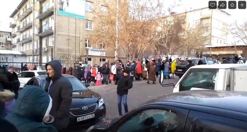 Клиническую больницу №10 эвакуируют