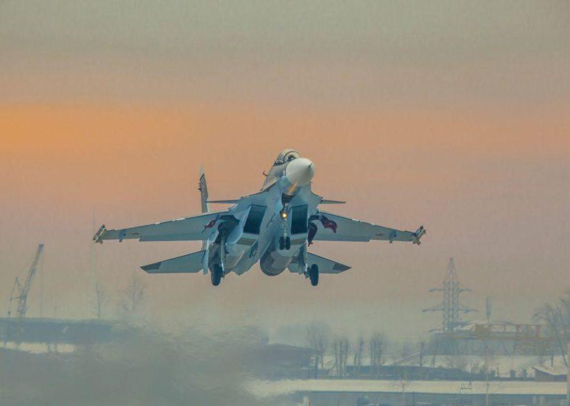 Морская авиация ВМФ продолжит получать самолеты Су-30СМ из Иркутска в 2019 году