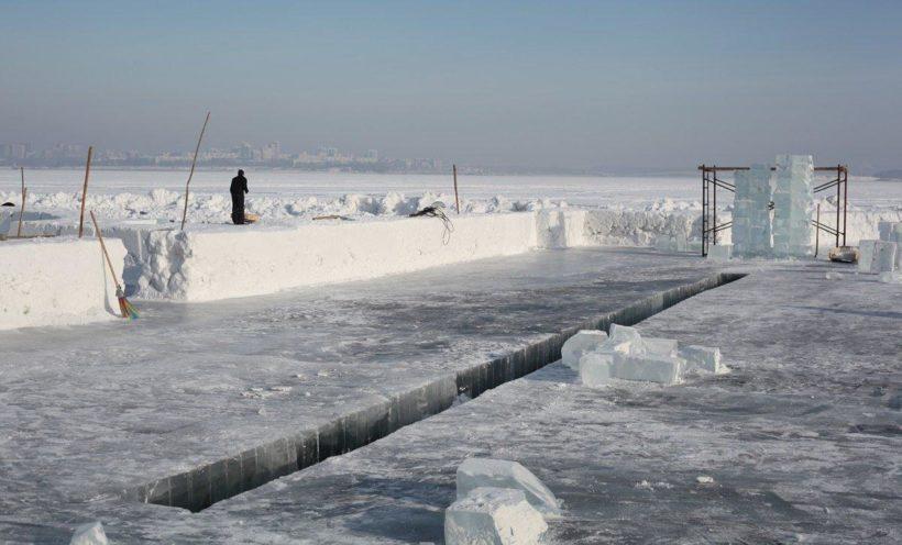 На Якоби в этом году построят ледяную часовню с настоящими колоколами
