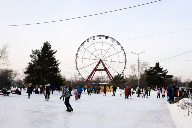 Студенты отметили Татьянин день массовым катанием в Иркутске