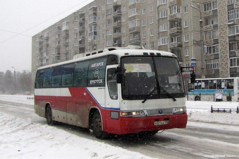 С 14 января подорожает стоимость проезда в автобусах с направлением Ангарск-Иркутск