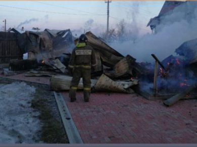 В Шелехове сгорела баптистская церковь