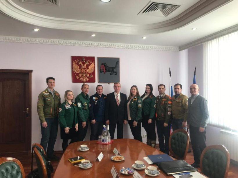 Губернатор: правительство региона готово оказывать поддержку студенческим отрядам