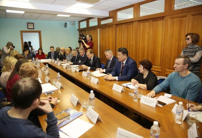Делегация Совета Федерации находится в Иркутской области