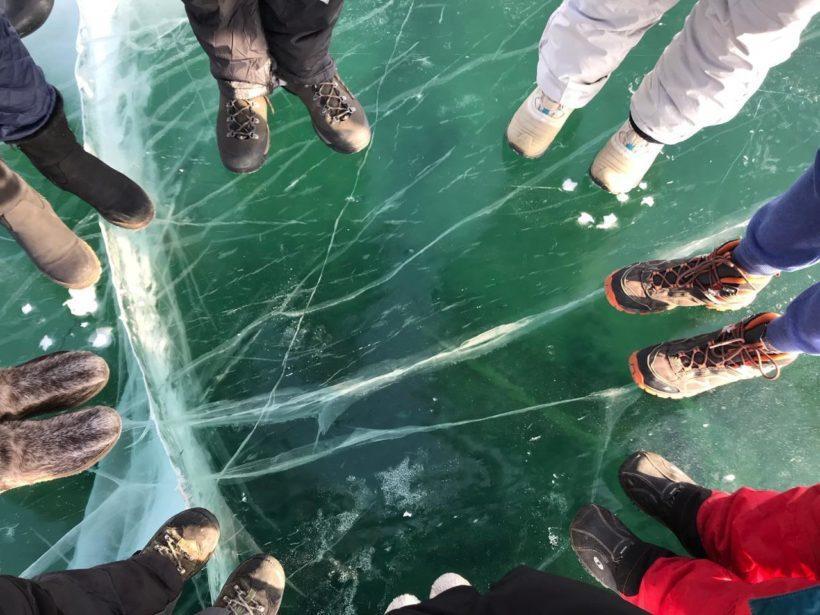 """Волонтерский проект """"Снега Байкальского заповедника"""" стартовал на Байкале"""