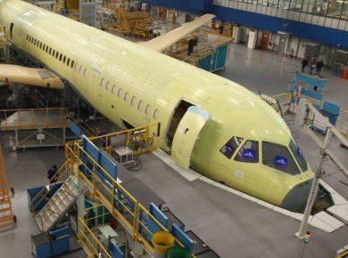 Иркутский авиазвод в 2021 году выйдет на серийное производство МС-21