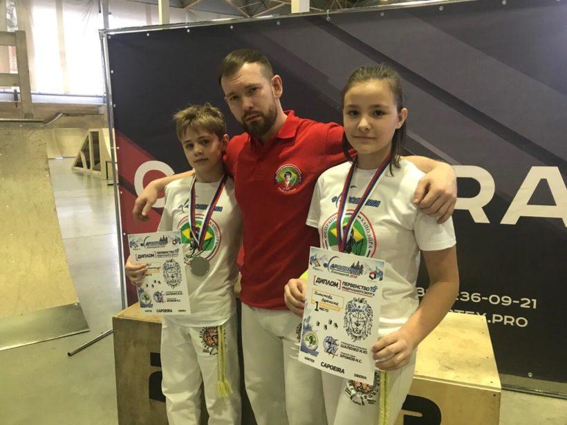 Иркутяне заняли призовые места на соревнованиях по капоэйре