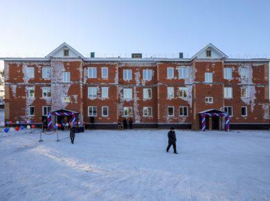 Многоквартирный дом для медицинских работников сдали в Бохане