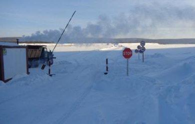 На двух ледовых переправах в Иркутской области увеличена грузоподъемность