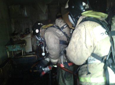 На пожаре в центре Иркутска спасены 10 человек