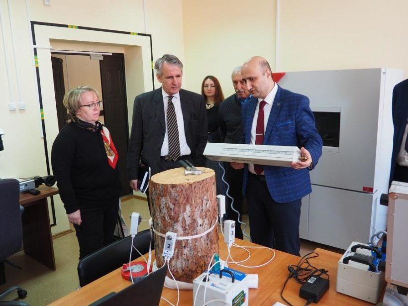 Генеральный консул Германии находится с рабочей поездкой в Братске