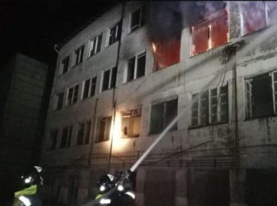 """Очередной пожар на """"Усольехимпроме"""" произошел в ночь на 6 марта"""