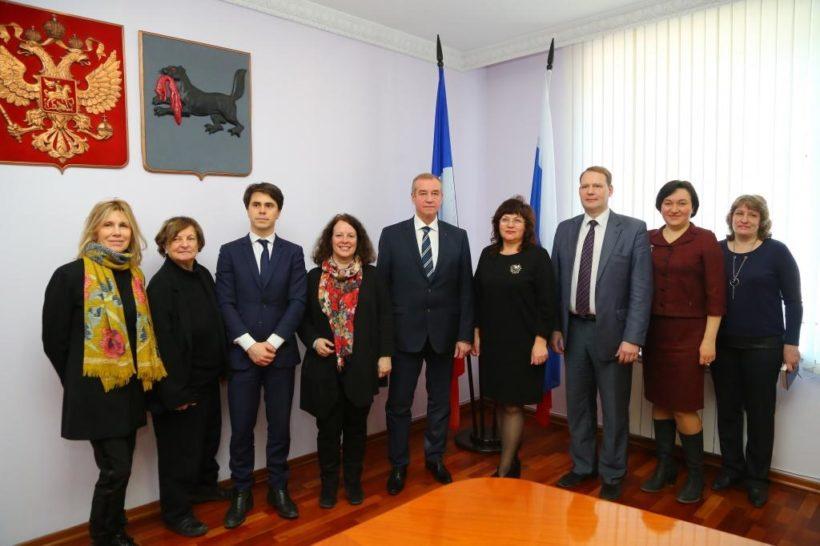 Сергей Левченко: Иркутская область готова расширять сотрудничество с Францией