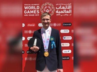 Иркутянин выиграл золотую медаль по конному спорту на Всемирных Специальных Олимпийских играх