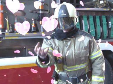 Музыкально-поэтическое видеопоздравление с 8 марта от пожарных и спасателей!
