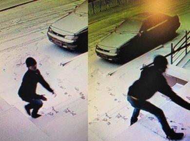 Полиция Иркутска разыскивает мужчину, пытавшегося ограбить местную жительницу